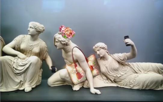 Ο Gucci στην Ακρόπολη